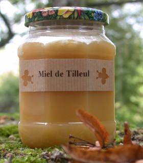 Miel de Tilleul 500 g Récolte 2010