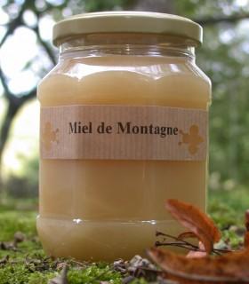 miel de montagne doux bio  500 g
