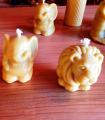 Bougie Lion, Eléphant, Ruche